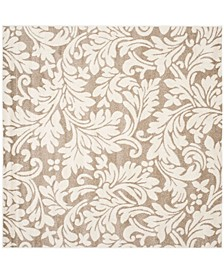 Amherst Wheat and Beige 9' x 9' Square Area Rug
