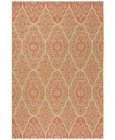 """Martha Stewart Collection Natural and Beige 2'7"""" x 5' Area Rug, Created for Macy's"""