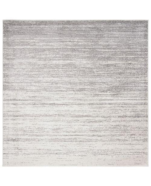 Safavieh Adirondack Ivory and Silver 7' x 7' Square Area Rug