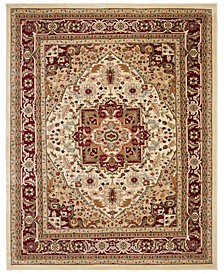 Lyndhurst Ivory and Red 12' x 18' Area Rug