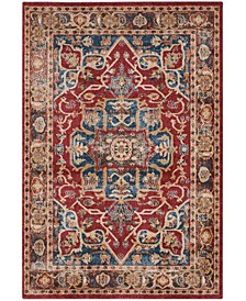 Bijar Red and Royal 10' x 14' Area Rug