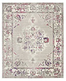 Safavieh Skyler Gray and Pink 8' x 10' Area Rug