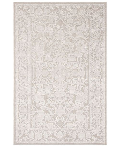 Safavieh Reflection Creme and Ivory 4' x 6' Area Rug