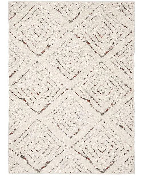 Safavieh Santorini Cream and Multi 4' x 6' Area Rug