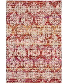Montage Pink and Multi 4' x 6' Area Rug