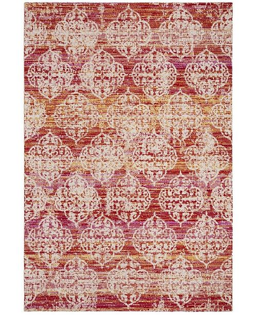 Safavieh Montage Pink and Multi 4' x 6' Area Rug