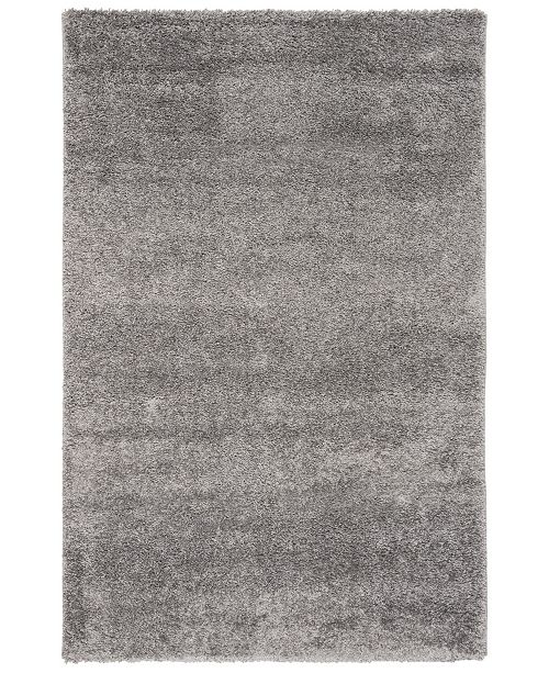 "Safavieh Solo Charcoal 6'7"" x 6'7"" Square Area Rug"