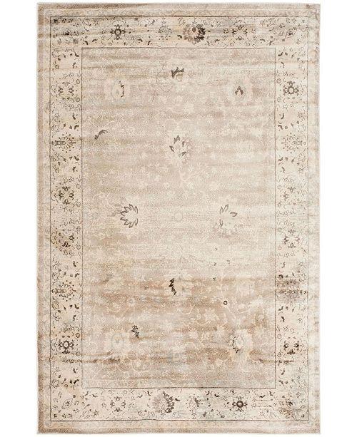 Safavieh Vintage Light Gray and Ivory 8' x 10' Area Rug