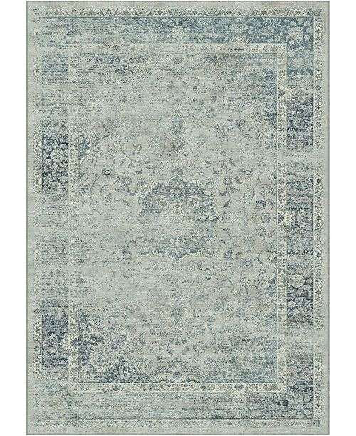 "Safavieh Vintage Light Blue 6'7"" x 9'2"" Area Rug"