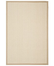 Natural Fiber Ivory and Natural 5' x 8' Sisal Weave Area Rug