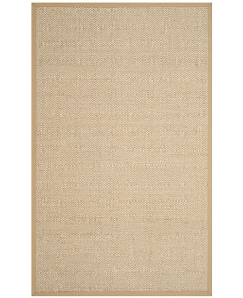 Safavieh Natural Fiber Natural and Beige 4' x 6' Sisal Weave Area Rug