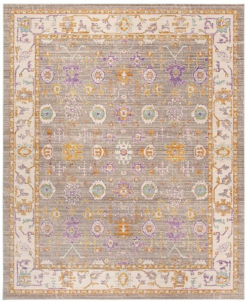 Safavieh Windsor Gray and Cream 9' x 13' Area Rug