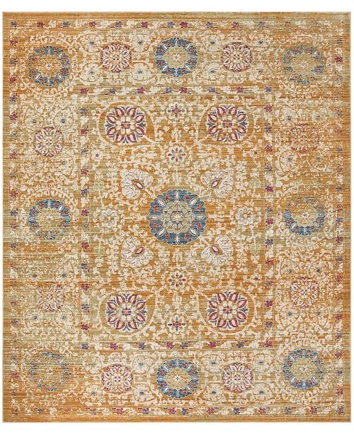 Safavieh Sutton Gold and Ivory 9' x 13' Area Rug