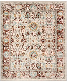 Sutton Ivory and Brick 9' x 13' Area Rug
