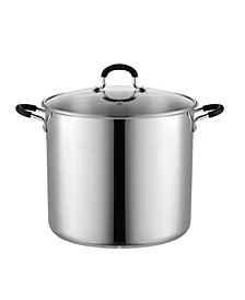 12 Quart Stainless Steel Stockpot Saucepot with Lid