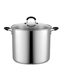 Cook N Home 12 Quart Stainless Steel Stockpot Saucepot with Lid