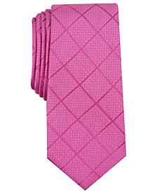 Alfani Men's Windowpane Tie, Created for Macy's