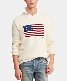 Polo Ralph Lauren Men's Iconic Flag Sweater