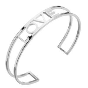 "Image of Adornia ""Love"" cuff bracelet"