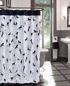 Bessie 72x72 Shower Curtain