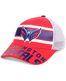 Outerstuff Boys' Washington Capitals Redline Snapback Cap