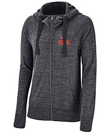 Women's Oregon State Beavers Gym Vintage Full-Zip Hoodie