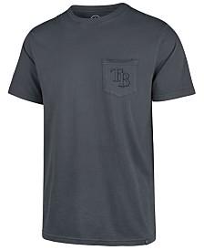 '47 Brand Men's Tampa Bay Rays Hudson Pocket T-Shirt