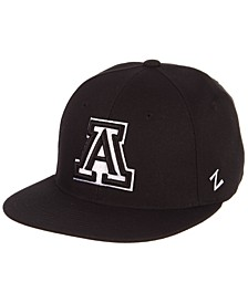 Arizona Wildcats M15 Black & White Fitted Cap