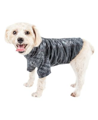 Pet Life Active 'Warf Speed' Ultra Stretch Sporty Performance Dog T-Shirt