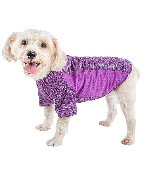 Pet Life Central Pet Life Active 'Warf Speed' Ultra Stretch Sporty Performance Dog T-Shirt