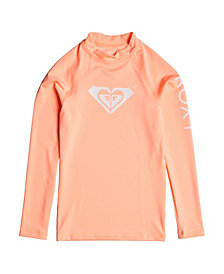 Roxy Girls Whole Hearted Long Sleeve Rashguard