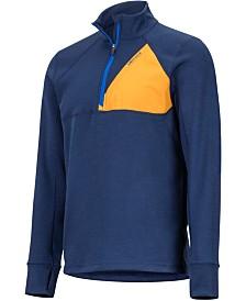 Marmot Men's Hanging Rock Colorblocked Half-Zip Sweatshirt