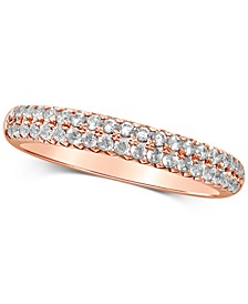 Diamond Ring (1/2 ct. t.w.) in 14k Rose Gold or 14k Gold