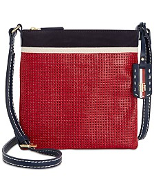Tommy Hilfiger Julia Canvas Mix Crossbody