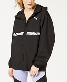 Puma Modern Sports Water-Repellent Hooded Jacket
