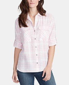 WILLIAM RAST Dalila Printed Utility Shirt