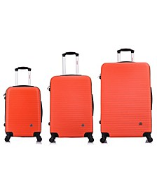 Royal 3-Pc. Lightweight Hardside Spinner Luggage Set