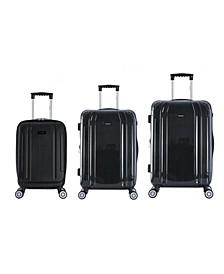 SouthWorld 3-Pc. Lightweight Hardside Spinner Luggage Set