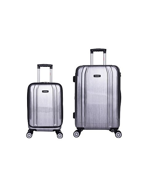 InUSA SouthWorld 2-Pc. Lightweight Hardside Spinner Luggage Set