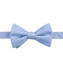 Ryan Seacrest Distinction™ Men's Vigo Neat Pre-Tied Silk Bow Tie, Created for Macy's