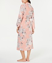 ee86770918 Charter Club Printed Soft Knit Cotton Long Robe