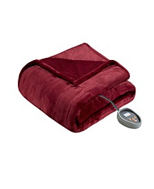 Beautyrest Microlight Berber Queen Heated Blanket
