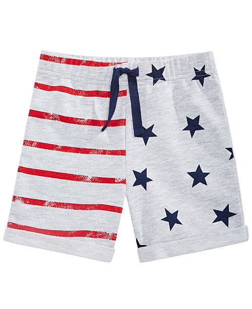 First Impressions Toddler Boys Stars & Stripes Shorts, Created for Macy's