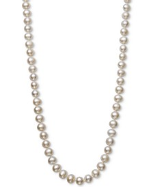 "Cultured Freshwater Pearl (7 - 8mm) 18"" Collar Necklace"