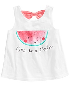 Baby Girls Watermelon Graphic Top, Created for Macy's