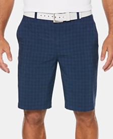 PGA TOUR Men's Heathered Grid Shorts