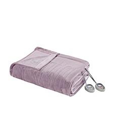 Electric Plush Queen Blanket
