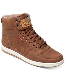 Levi's® Men's Stanton Waxed High-Top Sneakers