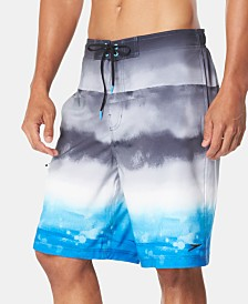 "Speedo Men's Wave Cycle 9"" E-Board Swim Trunks"
