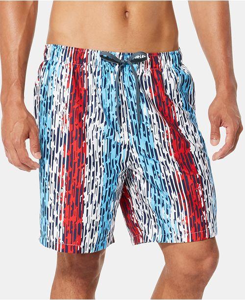 """Speedo Men's Americana Star Racer 7"""" Swim Trunks"""